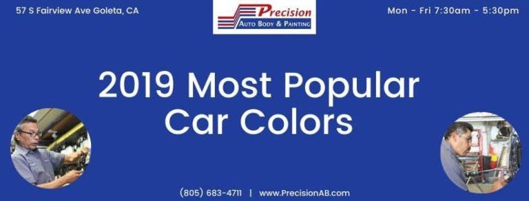 2019 Automotive Color Popularity