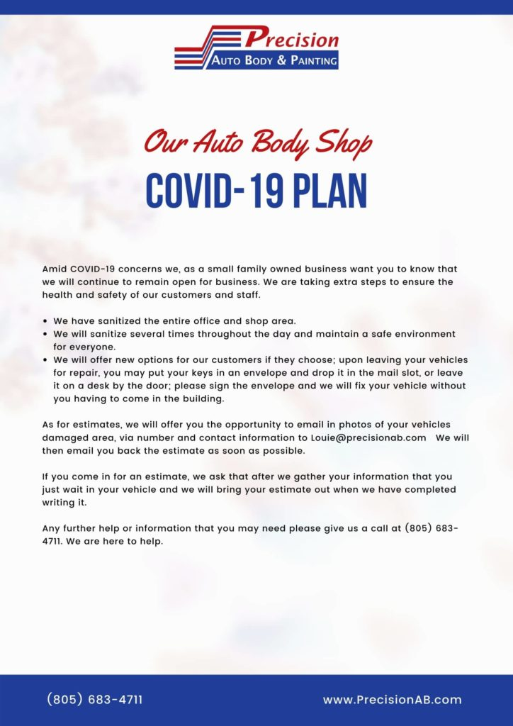 COVID-19 PLAN