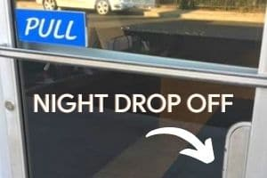 Only able to drop by for service after hours? No problem. Use our convenient night drop and leave your vehicle near the service door.