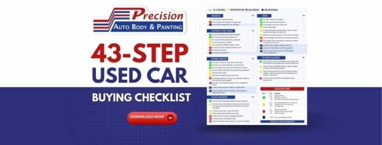 43 STEP Used Car Buying Checklist